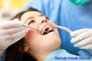 Пломбирование зубов от Stomat-mayak.kiev.ua